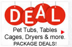 Dog Bathing System Package Deals